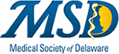 Medical Society of Delaware logo