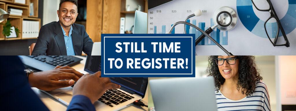 Fall 2021 still time to register