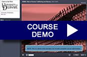Course demo button