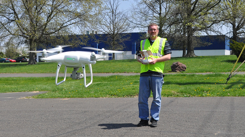 Delaware drone training academy at UD