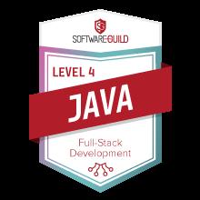 Level 4 Java Full-Stack Development Badge