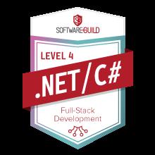 Level 4 .NET/C# Full-Stack Development Badge