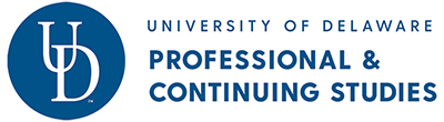 logo for University of Delaware Division of Professional and Continuing Studies