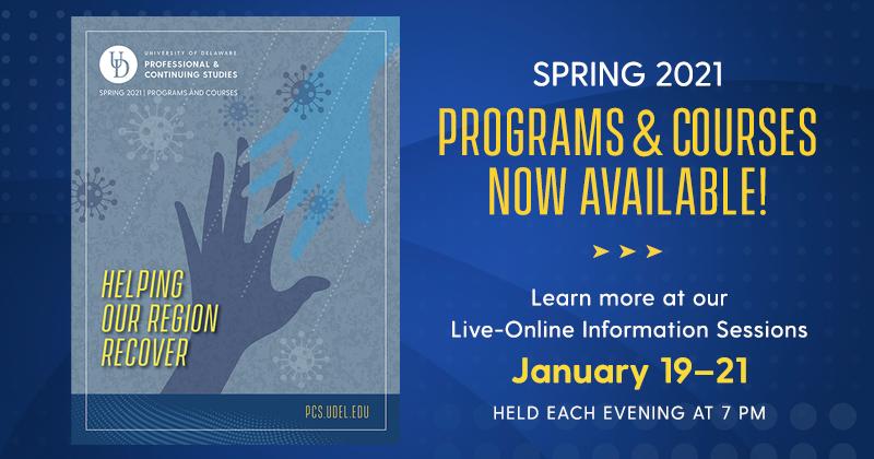 UD PCS Spring catalog graphic